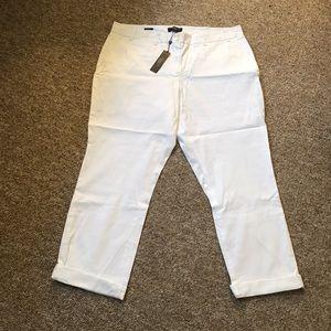 Talbots White Pants